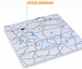 3d view of Gogolina Nowa