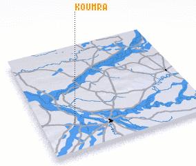Koumra Chad map nonanet