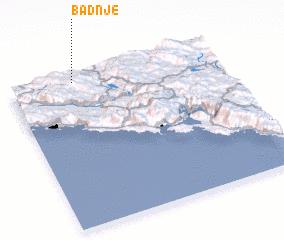 3d view of Badnje