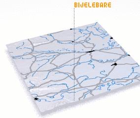 3d view of Bijele Bare