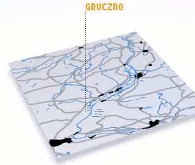 3d view of Gruczno