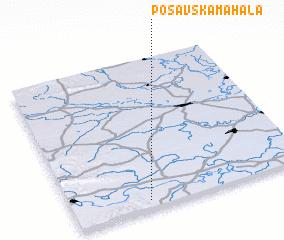 3d view of Posavska Mahala