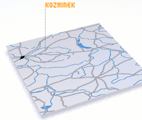 3d view of Koźminek
