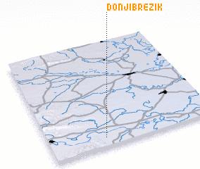 3d view of Donji Brezik