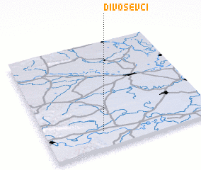 3d view of Divoševci
