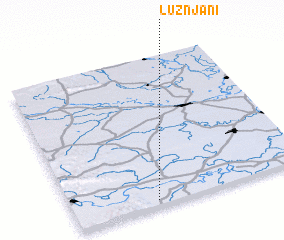 3d view of Lužnjani