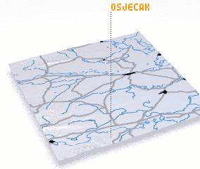 3d view of Osječak