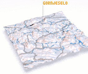 3d view of Gornje Selo