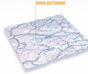 3d view of Gornji Stupari