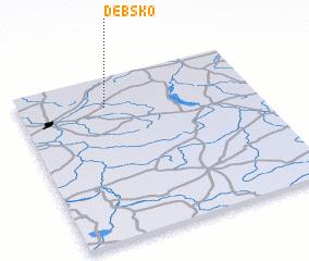 3d view of Dębsko