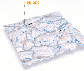 3d view of Krivača