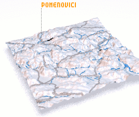 3d view of Pomenovići
