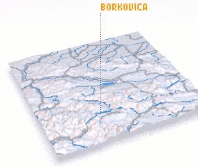 3d view of Borkovica