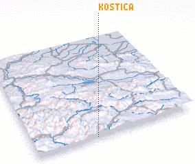 3d view of Koštica