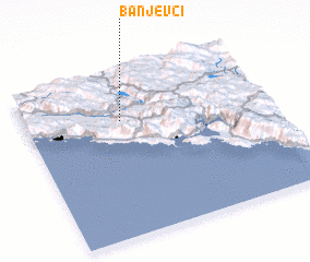3d view of Banjevci