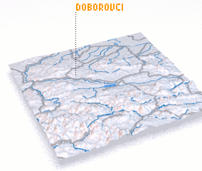 3d view of Doborovci