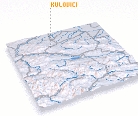 3d view of Kulovići