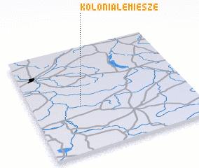 3d view of Kolonia Lemiesze