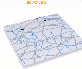 3d view of Kruszwica