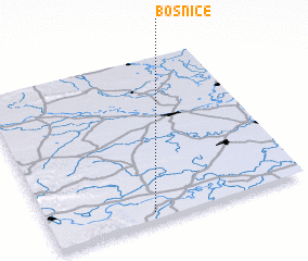 3d view of Bosnice
