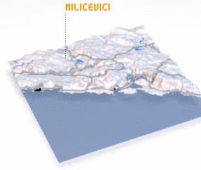 3d view of Milićevići