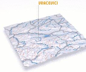3d view of Vračevići
