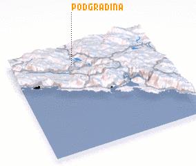 3d view of (( Podgradina ))