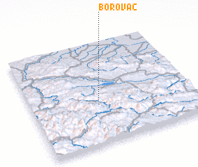 3d view of Borovac