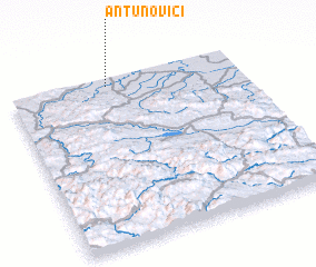 3d view of Antunovići