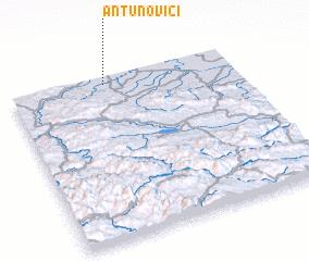 3d view of Antunovići