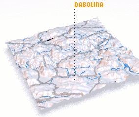 3d view of Dabovina