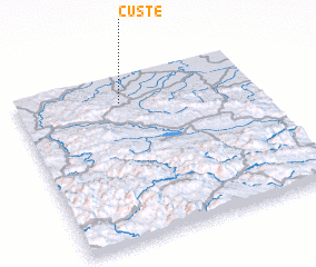 3d view of Čuste