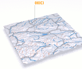3d view of Okići