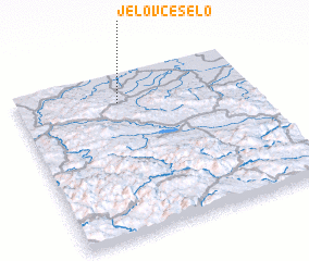3d view of Jelovče Selo