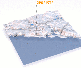 3d view of Prašište