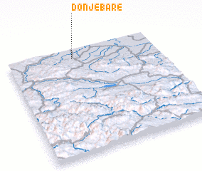 3d view of Donje Bare