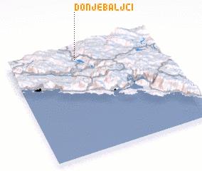 3d view of (( Donje Baljci ))