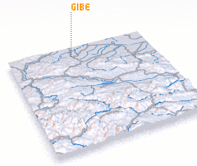 3d view of Gibe