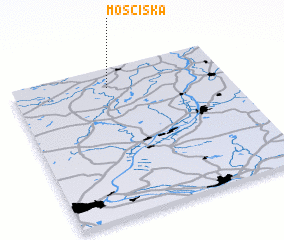 3d view of Mościska