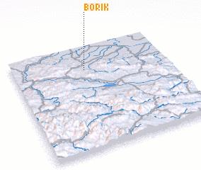 3d view of Borik