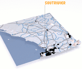 3d view of Soutrivier