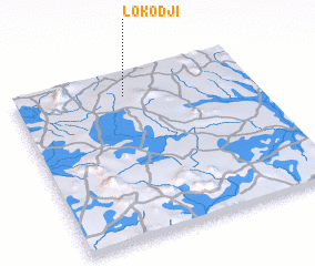 3d view of Lokodji