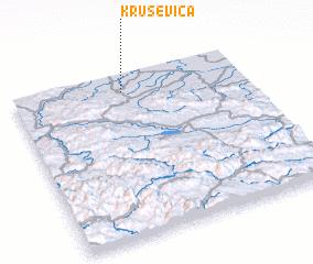 3d view of Kruševica