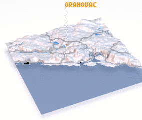 3d view of Orahovac