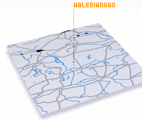 3d view of Walerianowo