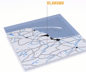 3d view of Klukowo