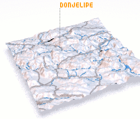 3d view of Donje Lipe