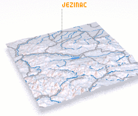 3d view of Ježinac