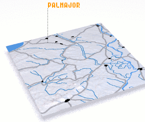 3d view of Pálmajor