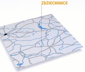 3d view of Zdziechowice
